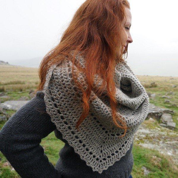Rundlestone Crochet Shawl Project Kit5 1 - Blacker Yarns