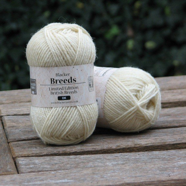 Ryeland Pure White DK - Blacker Yarns