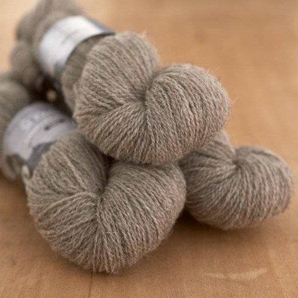 St. Kilda Laceweight, Isle of Dùn pale undyed