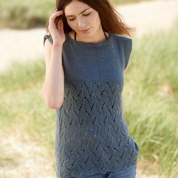 Talland Tee Blacker Yarns Free Pattern