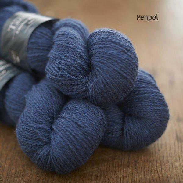 Tamar Lustre Blend 4-ply, Colly Brook blue