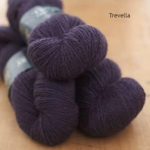 Tamar Lustre Blend 4-ply, Trevella dark purple