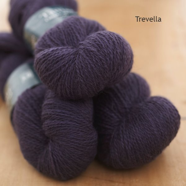 Tamar Lustre Blend 4-ply, Trevella dark purple
