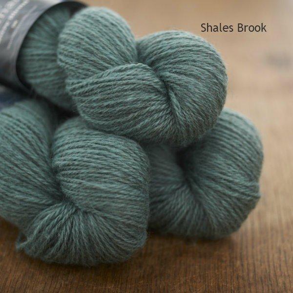 Tamar Lustre Blend DK, Shales Brook jade green