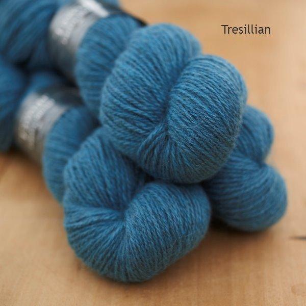Tamar Lustre Blend DK, Tresillian turquoise