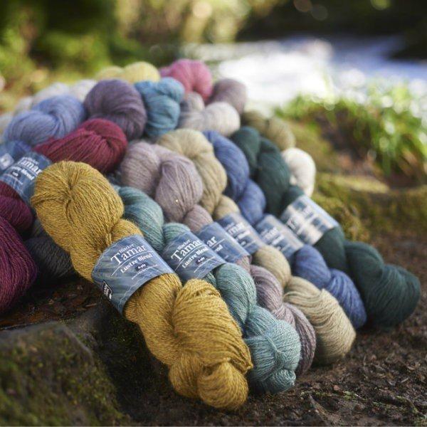Tamar Lustre Blend Knitting Yarn