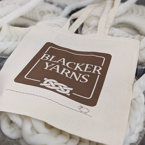 Blacker Yarns Tote Bag