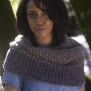 Trevithick Cowl Knitting Pattern from Blacker Yarns