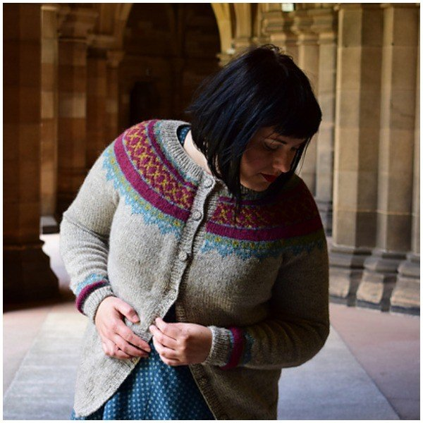 Vellum Cardigan by Karie Westermann - Blacker Yarns