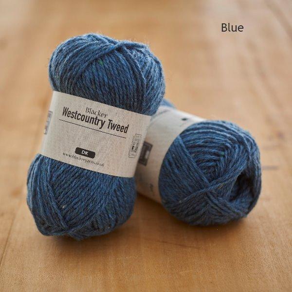 Westcountry Tweed Blue - Blacker Yarns