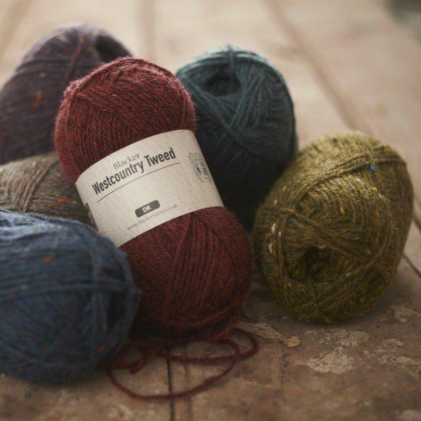 Blacker Yarns Westcountry Tweed DK