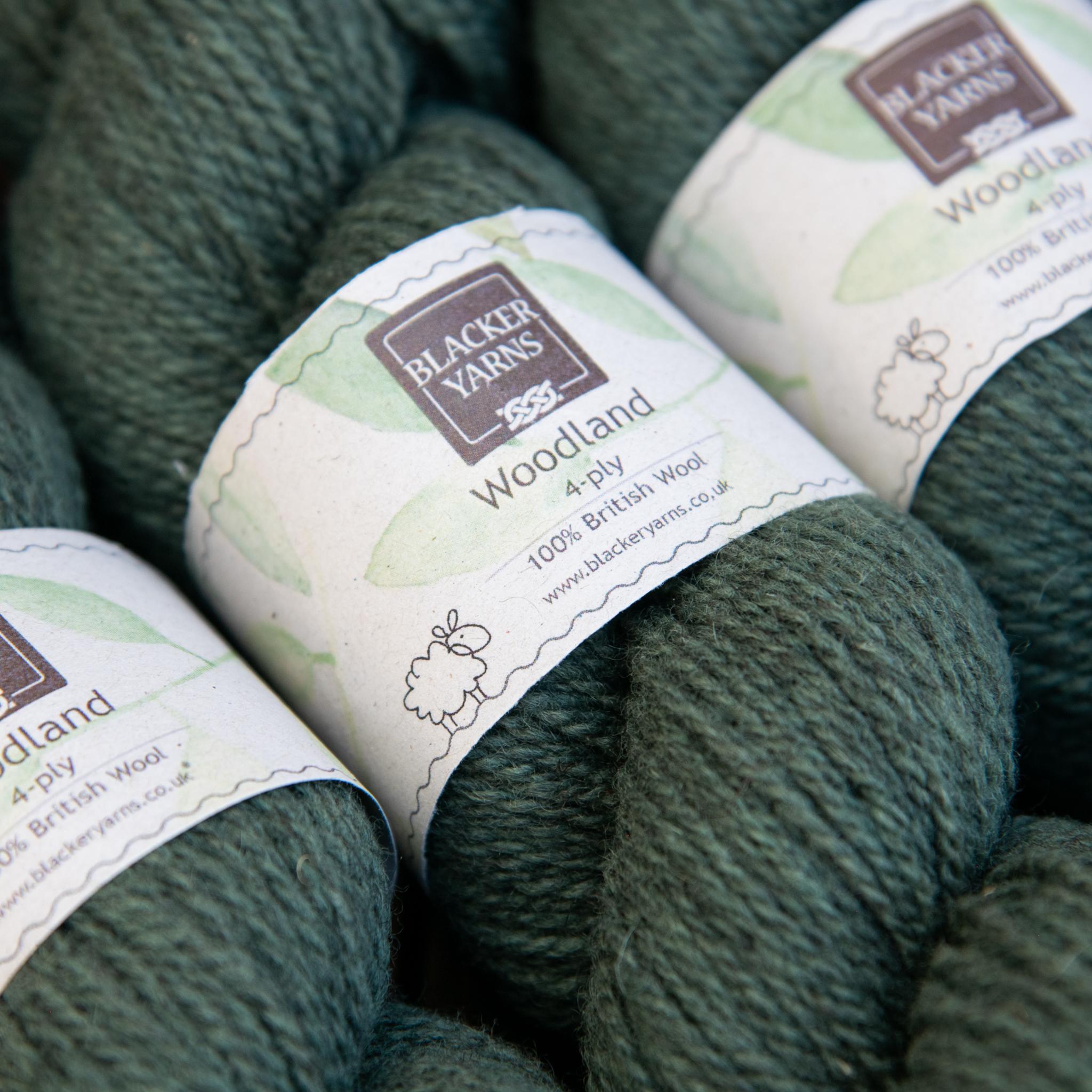 Woodland 4 ply Clover - Blacker Yarns