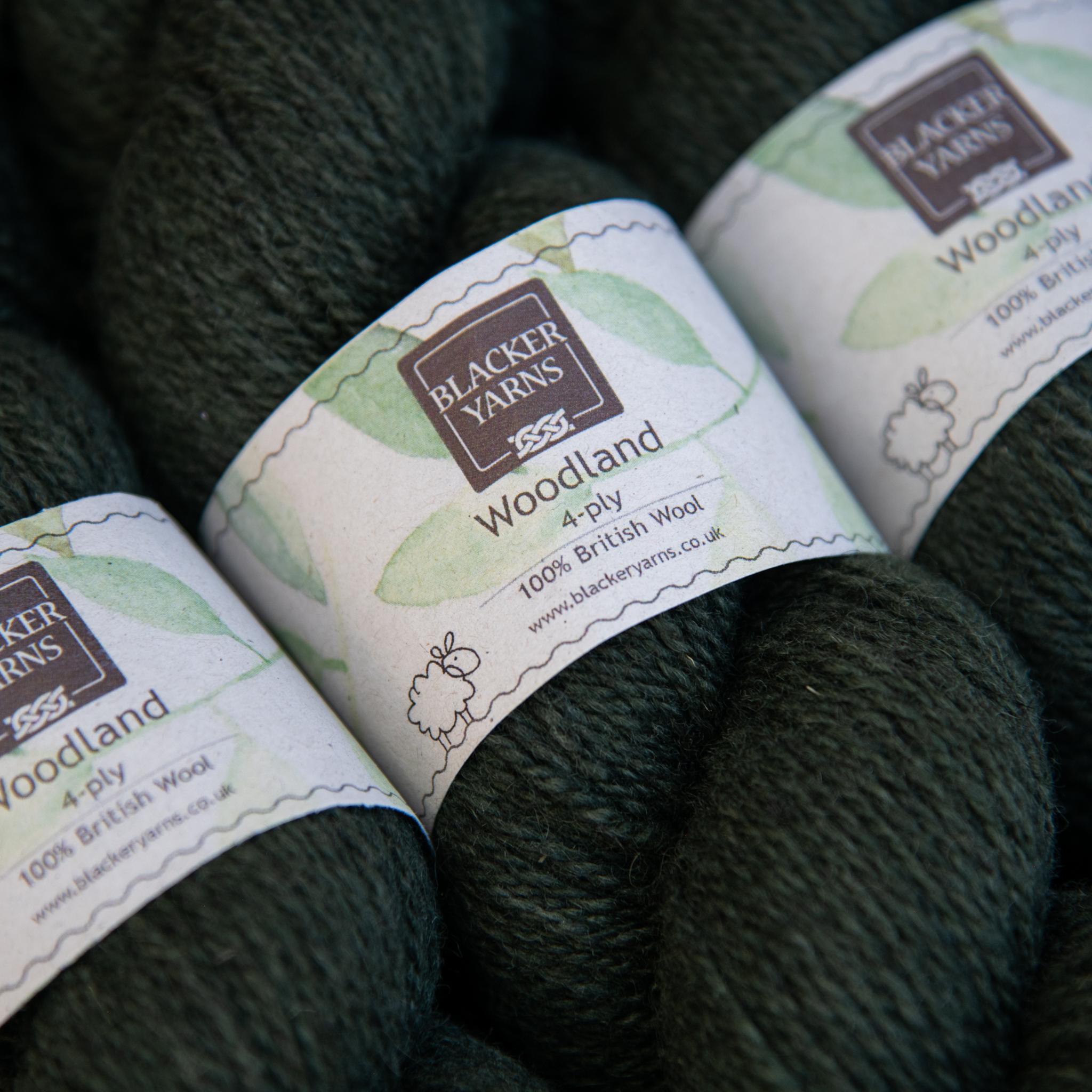 Woodland 4ply Holly Bush - Blacker Yarns
