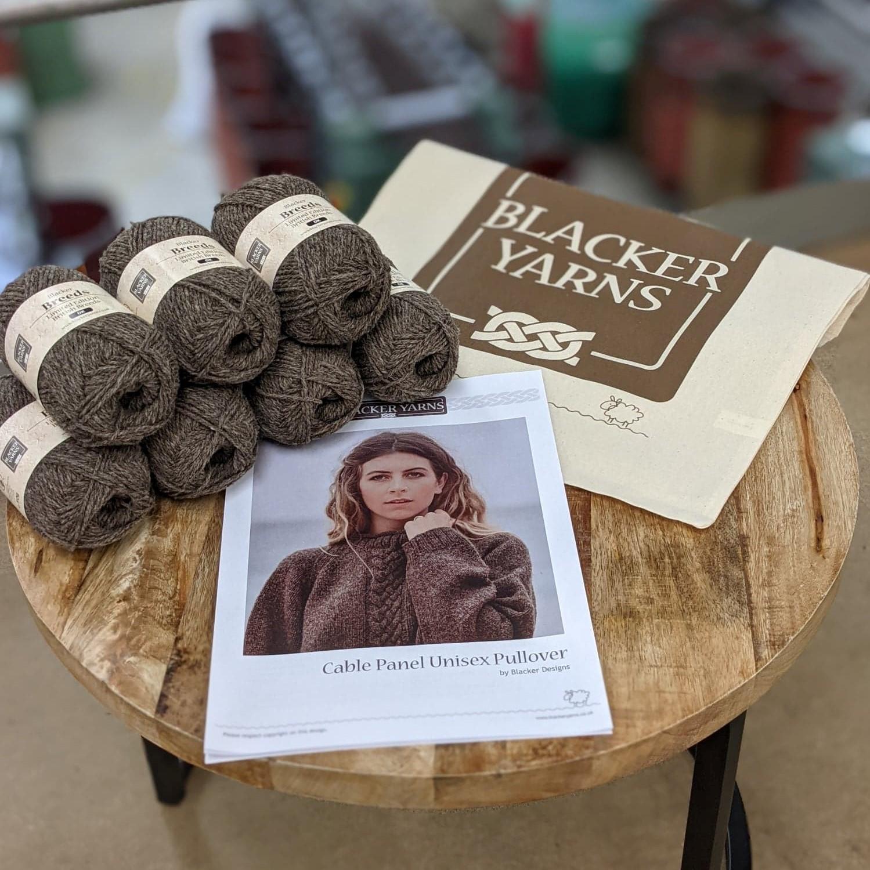 brown kit crop - Blacker Yarns