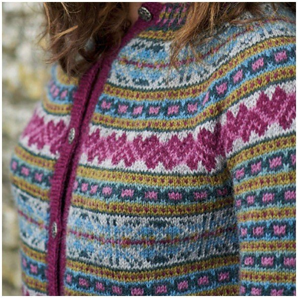 jura cardigan by Mary Henderson