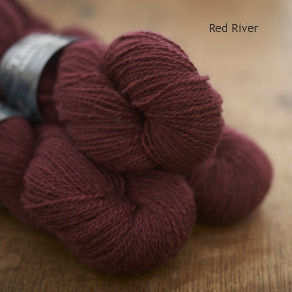 Tamar Lustre Blend 4-ply, Red River deep rose